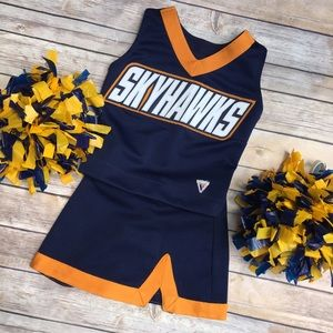 Other - Skyhawks Navy Orange Varsity cheer outfit
